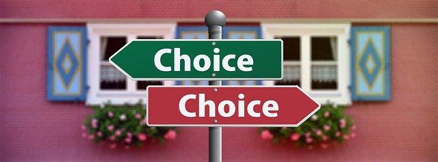 選択肢を自由に選べることは幸せなこと